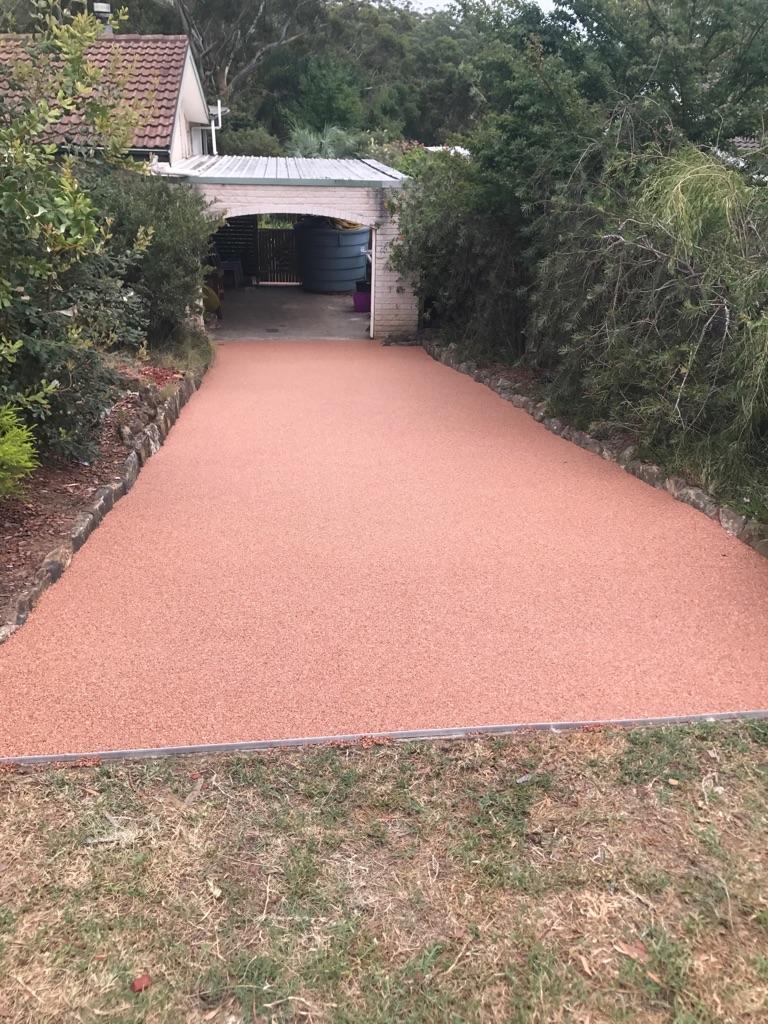 Private Driveway Overlay, Warragamba NSW