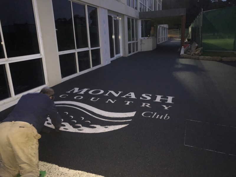 Pathway Overlay, Monash Country Club Pathway