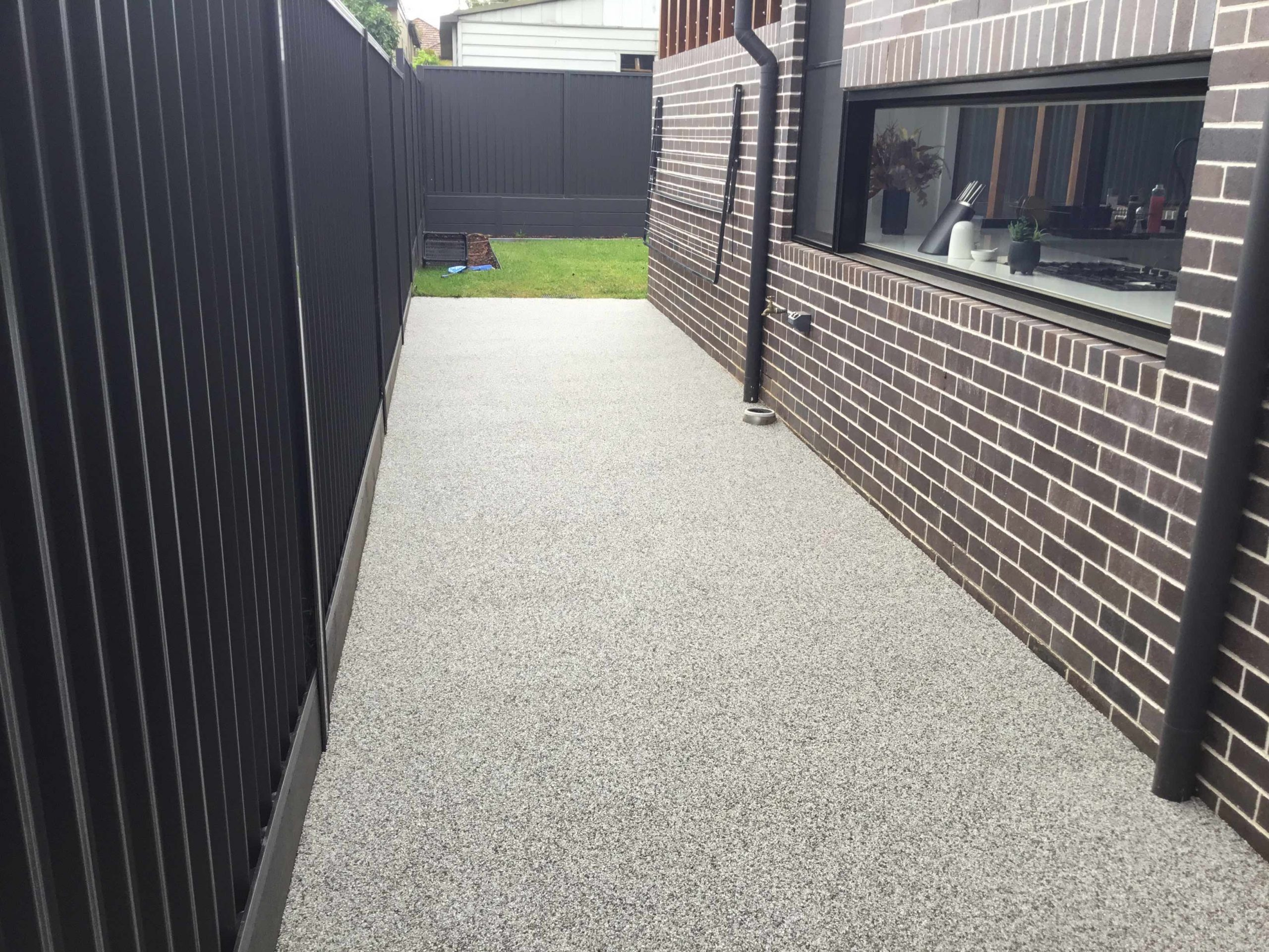 StoneSet great for side of the house Porous Paving Stone